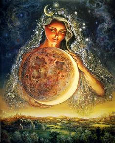 Full Moon Eclipse in Leo, January 2018 ~ The Great Mother - LoveHasWon.org