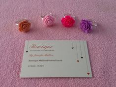 beautiful rose rings by JeniBowtique on Etsy Rose Rings, Beautiful Roses, Stud Earrings, Trending Outfits, Unique Jewelry, Handmade Gifts, Etsy, Vintage, Kid Craft Gifts