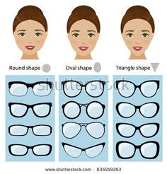 Spectacle frames for women face shapes. Spectacle frames shapes for different types of women face shapes. face types as square, diamond, rectangle. Frames For Round Faces, Glasses For Oval Faces, Glasses For Your Face Shape, Eyeglasses For Women Round Face, Womens Glasses Frames, Types Of Glasses Frames, Cute Glasses Frames, Diamond Face Shape, Oval Face Shapes