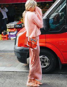 On ne se lasse pas de la saveur girly/glamour/vitaminée du duo rose/rouge ! (photo Camille Charrière)