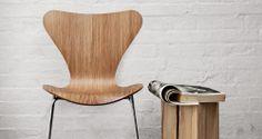 Silla Serie 7, madera prensada para triunfar.