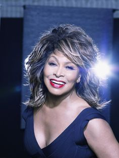 TINA TURNER - I love this woman's voice, courage, strength & gifted talents. She's my mentor & legend. -Hinesman
