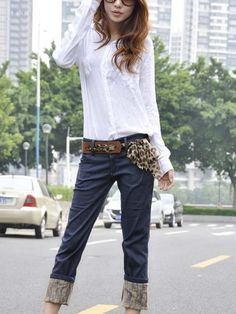 this women clothing looks so sexy Skinny Jeans Style, Cheap Jeans, Korean Fashion, Clothes For Women, Sexy, Clothing, How To Make, Pants, K Fashion