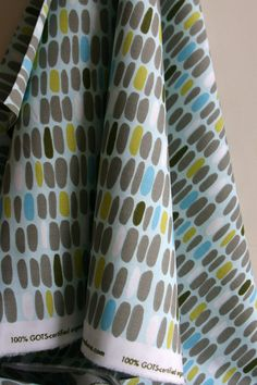 ORGANIC Pebbles by deisgner Monaluna from the by SewFineFabric, $16.00