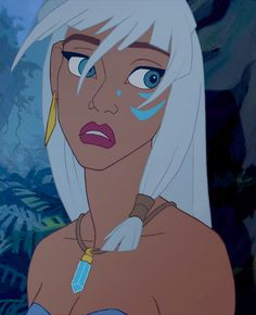 Kida from Atlantis: The Lost Empire. Shes always curious and always has her peoples interests at heart. Overall pretty amazing.