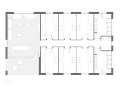 Hostel, Floor Plans, Floor Plan Drawing, House Floor Plans