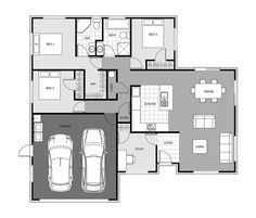 Bellbird | Signature Homes Amazon Beauty Products, Floor Layout, Entrance, Floor Plans, House Design, Homes, Flooring, How To Plan, Building