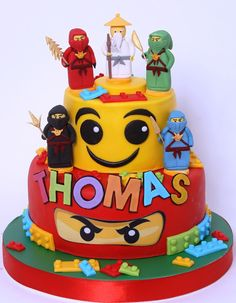54 Best Ninjago cakes images in 2019 | Ninjago cakes, Lego