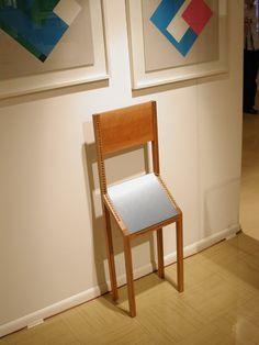 Bruno Munari, Sedia per visite brevissime - Centro Arte Contemporanea Cavalese