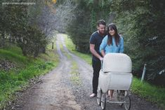 This couple were tired of questions about babies, so they organised an ingenious photo shoot