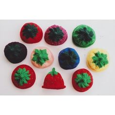 Ann Norling 10 Fruit Cap in Accessories at Webs