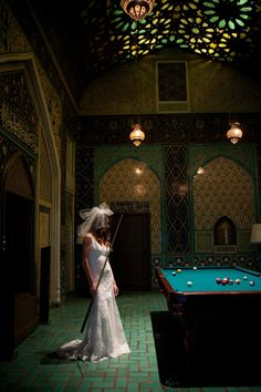 The Penthouse Suite at The Fairmont San Francisco / Wedding Gown designed by Atelier Des Modistes / Photographed by Julie Mikos