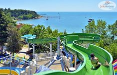 Du copiii la distracție 🤩 într-o vacanță #AllInclusive la #hotelVizitat SOL NESSEBAR PALACE 5* 🕌 din #Nessebar, #Bulgaria, ce are un super #AquaPark 💧, cu tobogane acvatice pentru toate vârstele, locuri de joacă și o echipă de animație cu multe idei de activități 🎉 Hotelul are camere confortabile cu balcon ☀, mult spațiu verde 🌿 și un centru SPA, unde te poți relaxa 🧖🏼♀️ Rezervă din timp pentru vara 2️⃣0️⃣2️⃣1️⃣ și beneficiază de… Kusadasi, Punta Cana, Dubrovnik, Antalya, Tenerife, Cancun, Bulgaria, Aqua, Teneriffe