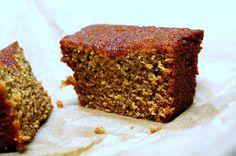 Honey Cake for the hobbit party. Hobbits love honey cake!