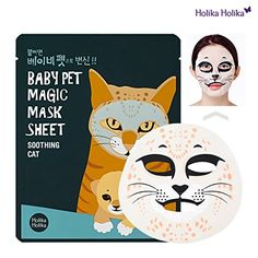 Holika Holika Baby Pet Magic Mask Sheet 22ml Soothing Cat 10 Sheet *** Click image for more details. (Note:Amazon affiliate link)