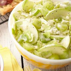 Find healthy, delicious cabbage recipes including boiled, roasted and stuffed cabbage. Healthier recipes, from the food and nutrition experts at EatingWell. Diabetic Side Dishes, Healthy Side Dishes, Side Dish Recipes, Apple Recipes, Healthy Recipes, Diabetic Recipes, Diabetic Salads, Healthy Potluck, Diabetic Desserts