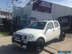 2006 Nissan Navara D40 ST-X (4x4) White Manual 6sp M Dual Cab Pick-up #nissan #navara #forsale #australia