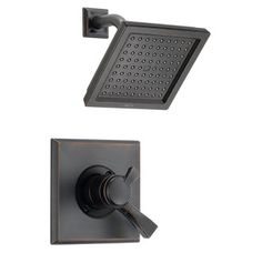 shower head and controls