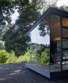 Timeless detailing - Silicon Valley Tea House — by Swatt Miers Architects #architecture