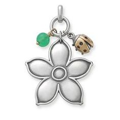 Spring Pendant with Chrysoprase Bead at James Avery