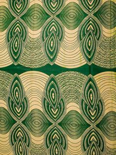 African Fabric Real Wax Print 6 Yards Cotton by Africanpremier, $24.99