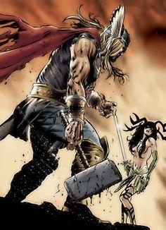 Thor Vs. Hela