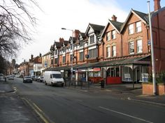 Heaton Moor Road shops, pre-movein of small shops and redevelopment of cafe