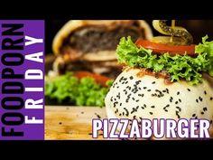 Der PIZZABURGER - Foodporn Friday bei Yasilicious - YouTube