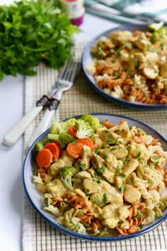 Pasta Recipes, Chicken Recipes, Dinner Recipes, Cooking Recipes, Healthy Diners, Good Food, Yummy Food, No Cook Meals, Pasta Salad