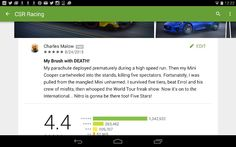 CSR Racing for Android app review