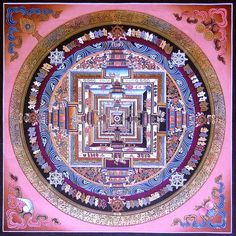 """The word mandala is a Sanskrit term that means """"circle"""" or """"discoid object"""". A mandala can be defined in two ways: externally as a schematic visual representation of the universe..."""