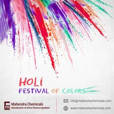 Celebrate this Holi with your Family & friends and let the positivity and prosperity surround you for all the time ahead. A very Happy Holi 2021! www.mahendrachemicals.com #Happyholi2021 #holi2021 #holi #holicelebration2021 #holifestivalofcolours #holihai Holi Festival Of Colours, Festival Holi, Festival Celebration, Holi Celebration, Festival Background, Party Background, Happy Holi, Holi Poster, Holi Party