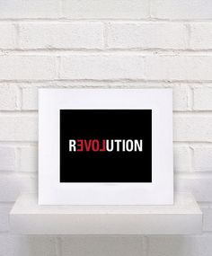 REVOLUTION  LOVE  Custom Print   11x14 by KeepItFancy on Etsy, $10.00