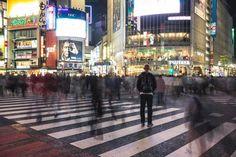 Shibuya Crossing by Inspirationfeed on Creative Market