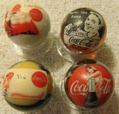 Coca Cola marbles