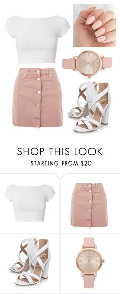 """""""Cute"""" by hutchison-naa ❤ liked on Polyvore featuring Helmut Lang, Topshop, Miss KG and Vivani"""