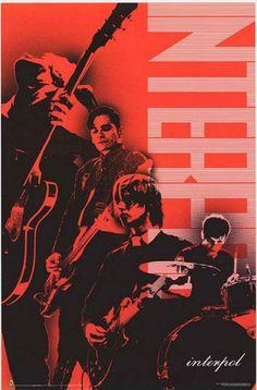 Interpol Band Pop Art Poster 22x34