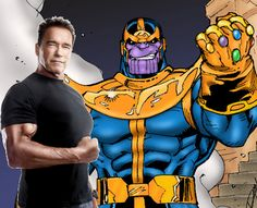 Worlds Finest News | Arnold Schwarzenegger Favorite for Thanos Role in Avengers: Age of Ultron