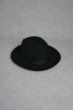 Schwarzer Hut von Cima online kaufen - Grösse 58 - Marke Cima   Vintage-Fashion Online Shop fürs Verkaufen und Kaufen