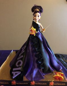 Descendants doll cake MAL made by walesca
