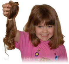 Locks of L<3ve ~ A public non-profit organization that provides hairpieces to financially disadvantaged children (under age 21), in the United States and Canada, suffering from long-term medical hair loss from any diagnosis.
