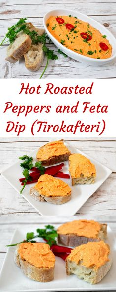 Hot Roasted Peppers and Feta Spread (Tirokafteri) - SocraticFood