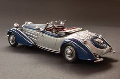 1938  Horch 855 Special Roadster Maintenance/restoration of old/vintage vehicles: the material for new cogs/casters/gears/pads could be cast polyamide which I (Cast polyamide) can produce. My contact: tatjana.alic@windowslive.com