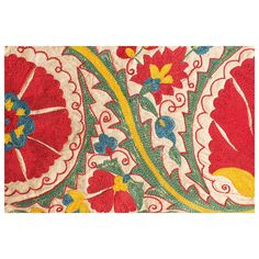 """Hand Embroidered Uzbek Suzani 
