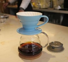 1PC Free Shipping 360ML Espresso Coffee Server + V60 Coffee Dripper Sets Brewer coffee ceramic filter and glass server