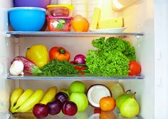 10 Foods Every Healthy Fridge Should Have If you do not eat these foods on a regular basis, consider supplementing your diet in the areas you are a deficient. Check out the website to see Healthy Habits, Healthy Tips, Healthy Choices, Healthy Snacks, Healthy Recipes, Eat Healthy, Healthy Plate, Diabetic Snacks, Healthy Drinks