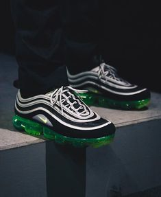 a802d237f31b00 The NIKE AIR VAPORMAX 97 JAPAN mixes the late 90s OG neon colourway up with  the