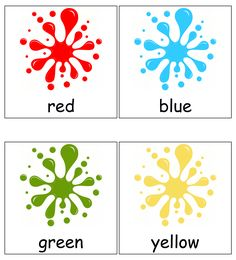 Free printable for kids (toddlers/preschoolers) flash cards/charts/worksheets/(file folder/busy bag/quiet time activities)(English/Tamil) to play and learn at home and classroom. Color Activities For Toddlers, Flashcards For Toddlers, Colors For Toddlers, Preschool Christmas Activities, Free Preschool, Time Activities, Children Activities, Preschool Science, Infant Activities