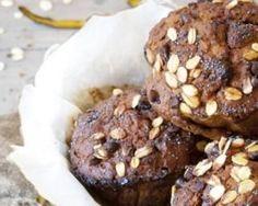 Cupcakes rustiques légers au cacao et flocons d'avoine : http://www.fourchette-et-bikini.fr/recettes/recettes-minceur/cupcakes-rustiques-legers-au-cacao-et-flocons-davoine.html