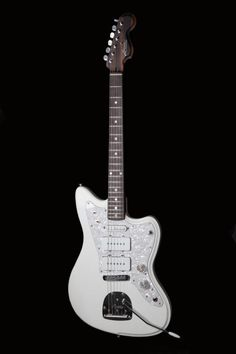 Beautiful LaRose electric guitar, property of Guthrie Govan